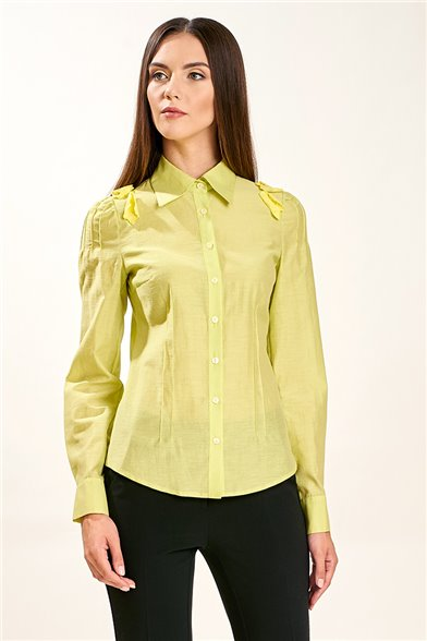 Блуза Цветы лимона