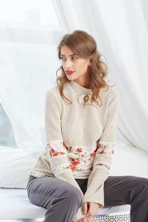 Блуза Клубничный зефир