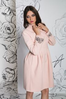 Пальто Ванильная роза