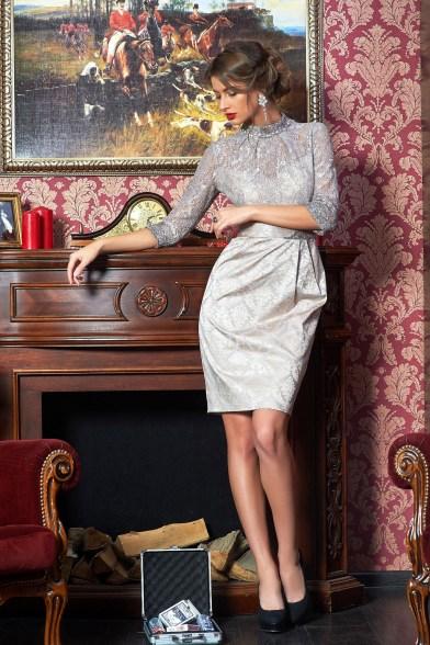 Платье Серебряный ажур