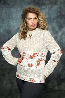 Блуза Клубничный зефир-Муза
