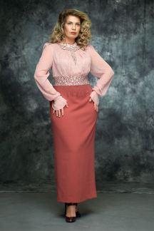 Платье Ягодная карамель - М