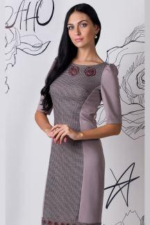 Платье Сдержанный дуэт