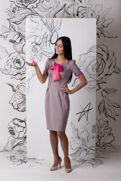 Платье Воздушный гиацинт