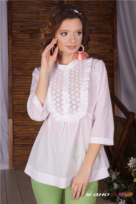 Блуза Бишелье - М