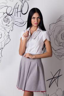 Блуза Белоснежный лепесток