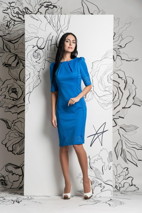 Платье Голубое притяжение