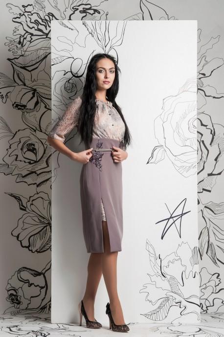 Платье Розовая дымка 1