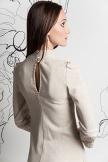 Платье Жемчужный пух