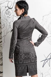 Платье Антрацитовая тайна