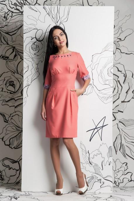 Платье Розовая пудра