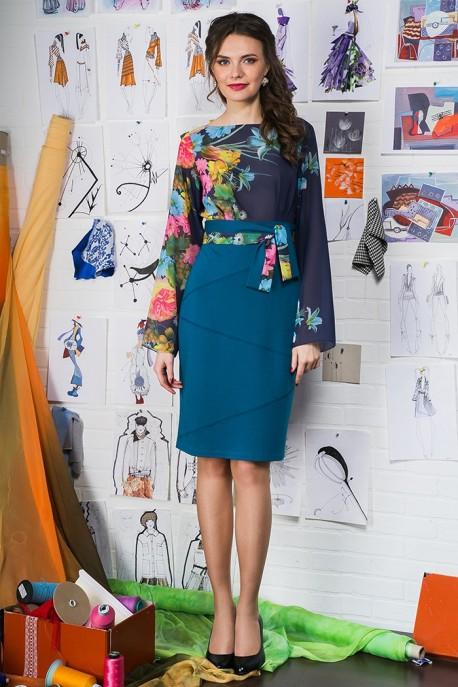 Платье Лиловый блусетт