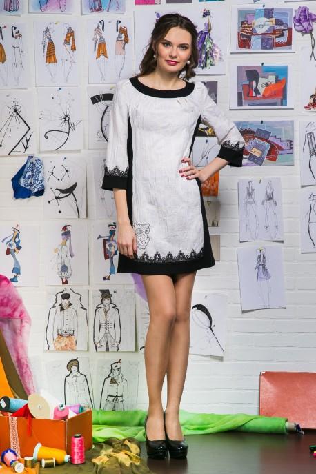 Платье Ночная птица