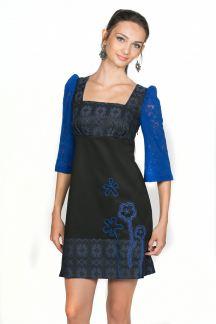 Платье Неоновый цветок