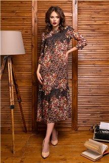 Платье Цветочное настроение - М
