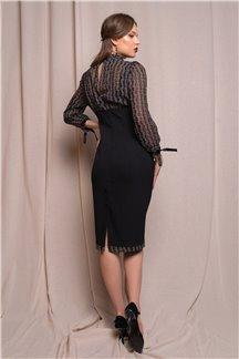 Платье Лепесток ночи - М