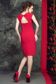 Платье Красный рубин