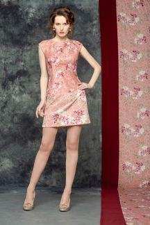 Платье Букет орхидей