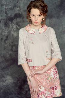 Жакет Утренний цветок