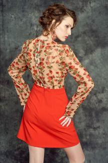 Платье Парижская роза