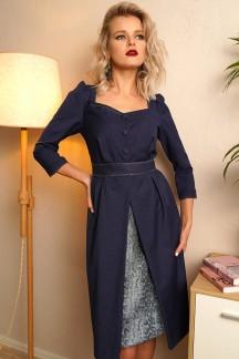Платье Индульгенция/3 (Серый питон)