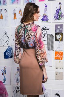 Платье Миндальный бурбон