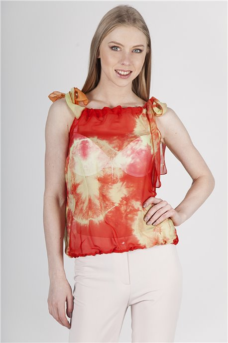 Блуза Гранатовый фрэш