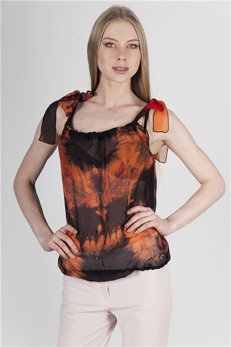 Блуза Оранжевый лайм