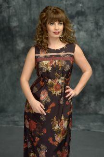 Платье А-ля-рус-Муза