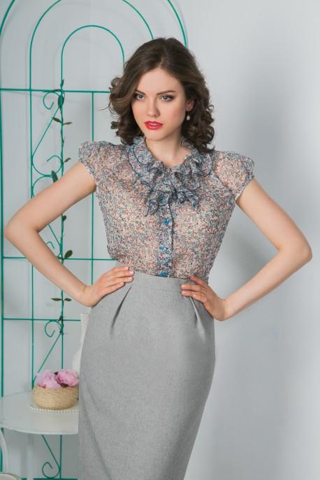 Блуза Цветочная нежность