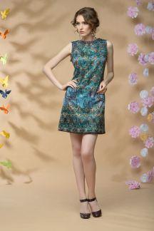Платье Изумрудный калейдоскоп