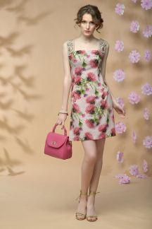 Платье Цветущий чертополох