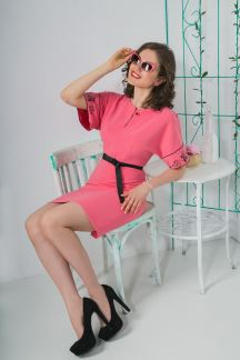 Платье Розовое утро