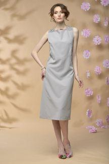 Платье Цветок в тумане