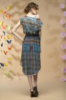 Платье Воздушный водопад