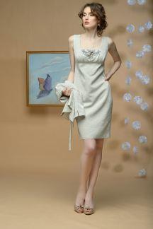 Платье Жемчужные цветы