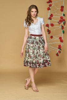 Блуза Воздушные цветы