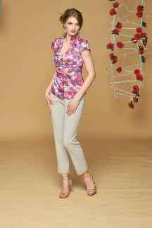 Блуза Малиновый букет