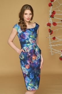Платье Цветочная фантазия