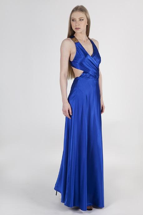 Платье Вечерняя синева