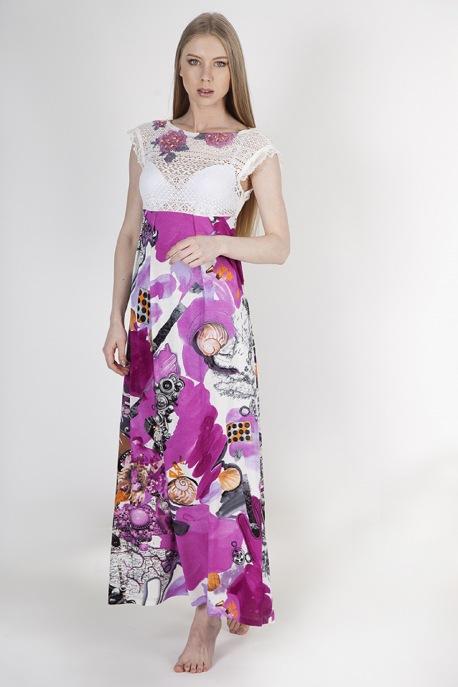 Платье Очарование фуксии