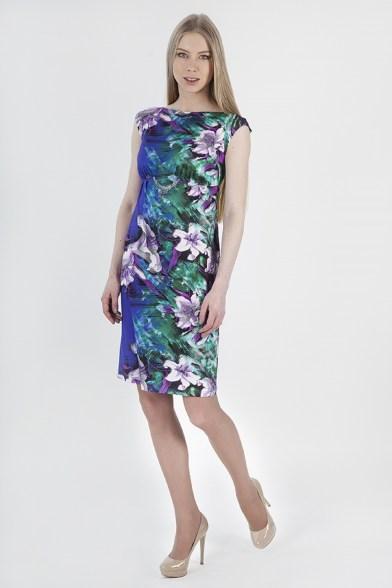 Платье Лиловый калейдоскоп