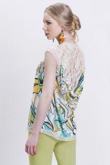 Блуза Солнечный ажур