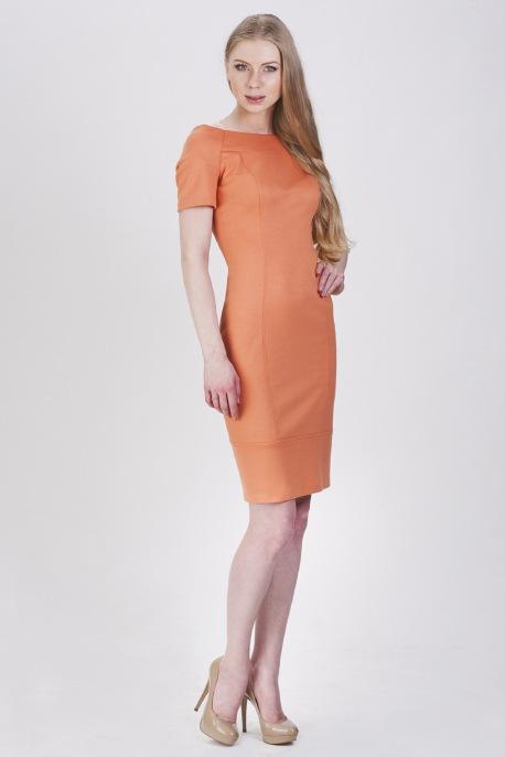 Платье Персиковый ликёр