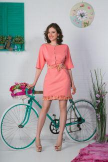 Платье Таинственный розовый