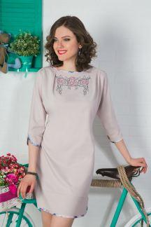Платье Благородная акварель