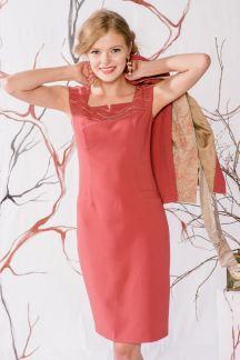 Платье Коралловый жемчуг