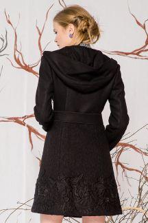 Пальто Чернильный шелк