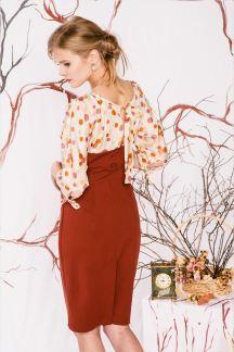 Платье Шоколадное драже
