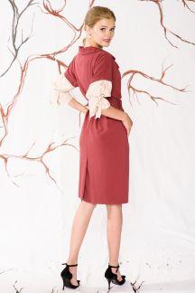 Платье Брусничный смузи
